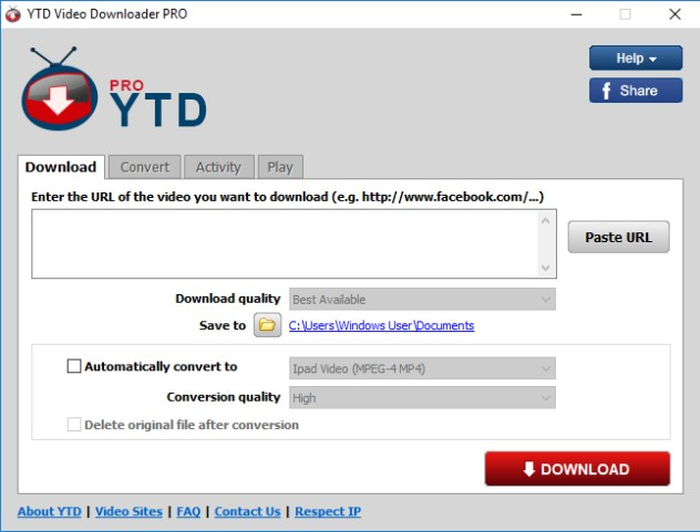 YTD Video Downloader Pro 2020 Crack