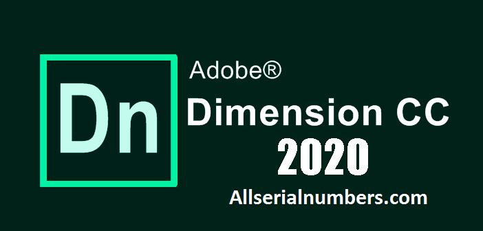 Adobe Dimension CC 2020 Crack