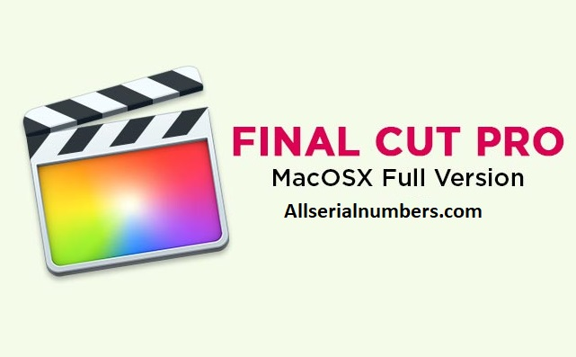 Final Cut Pro 2020 Crack
