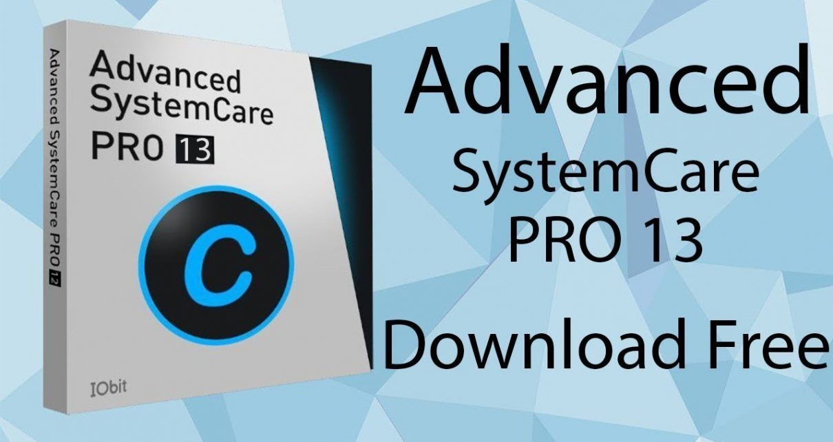 Advanced SystemCare Pro 13 Crack