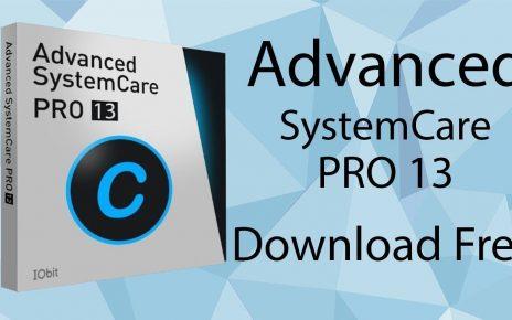 Advanced SystemCare Pro 13 Crack