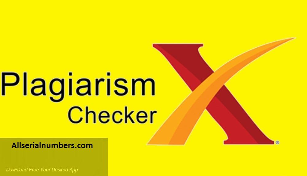 Plagiarism Checker X 6.0.11 Crack With Keygen Latest Version
