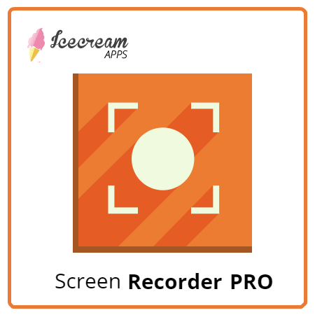 IceCream Screen Recorder Pro 6.16 Crack With Serial Key