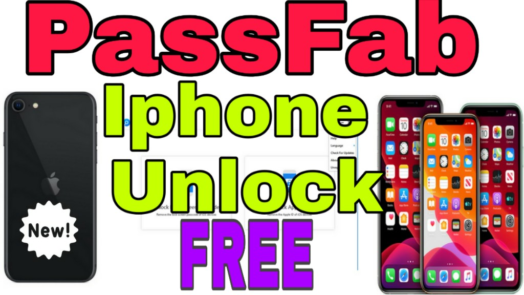 PassFab iPhone Unlocker 2020 Crack